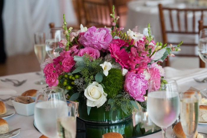 Classic Pink & Green Pittsburgh Wedding at Phipps Conservatory from Weddings by Sal & Bella Featured on Burgh Brides