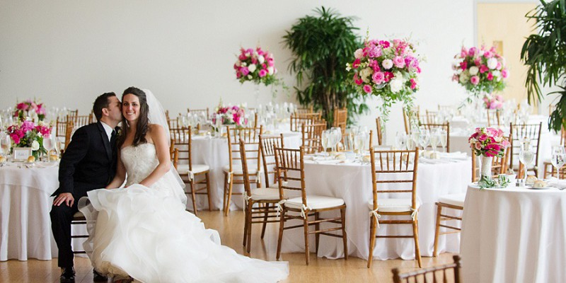 Classic Pink & Green Wedding at Phipps Conservatory: Alison & Luke