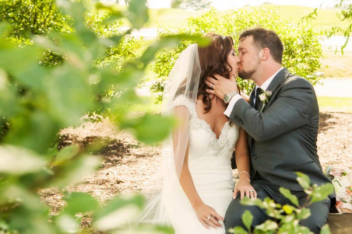Soft Romantic Wedding at Nemacolin Woodlands from Laurel Mountain Photography Featured on Burgh Brides