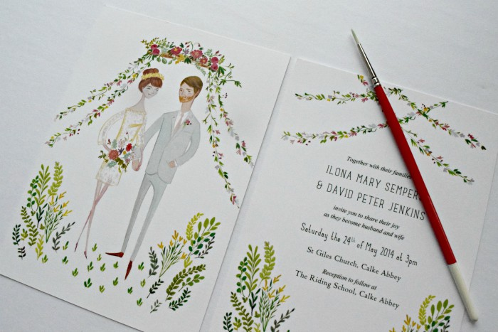 Everything You've Ever Wanted to Know About Invitations: A Wedding Paper Series from Inky Agnes & Burgh Brides