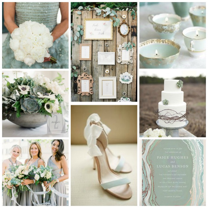 Jade & Gray Wedding Inspiration from Burgh Brides