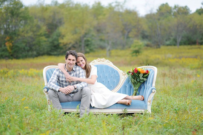 Vintage Pittsburgh Engagement Session from Kelly Lester Photography Featured on Burgh Brides