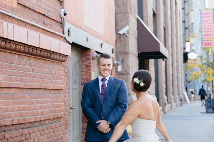 Intimate Romantic Pittsburgh Wedding at the LeMont from Jeannine Bonadio Photography Featured on Burgh Brides