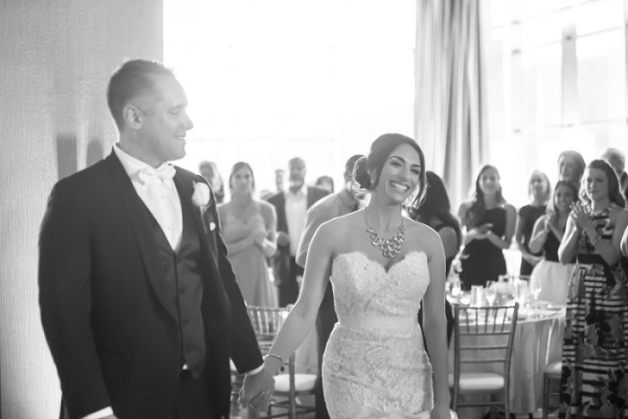 Contemporary Chic Pittsburgh Wedding at the Rivers Casino from SkySight Photography featured on Burgh Brides