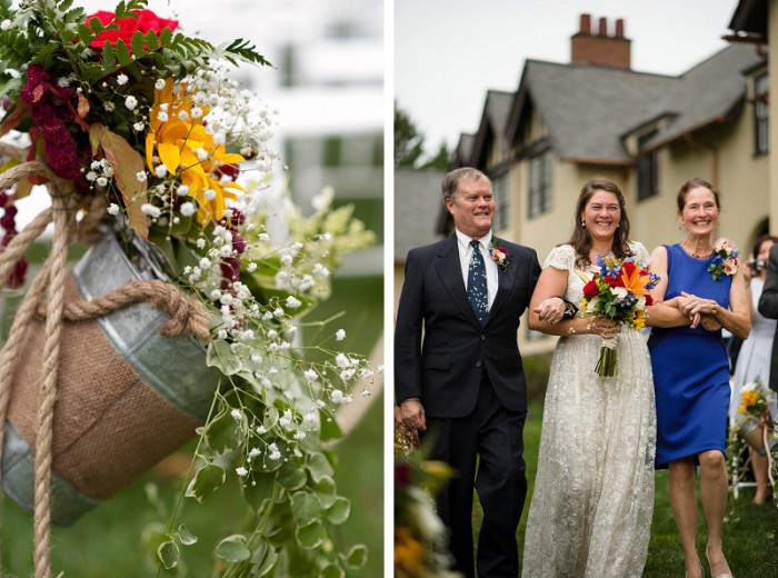 Colorful DIY Pittsburgh Wedding at Roselea Farm from Michael Will Photograhy featured on Burgh Brides