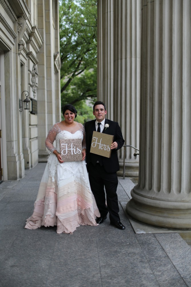 What Happens When a Bride Designs Her Own Wedding Dress from Burgh Brides