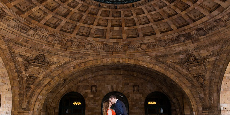 Architecturally Inspired Engagement Session: Kortney & Rob