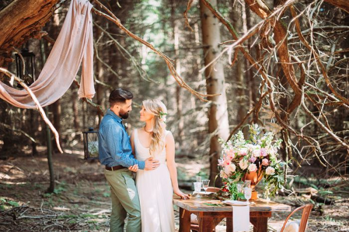 Savage Romance Styled Shoot featured on Burgh Brides