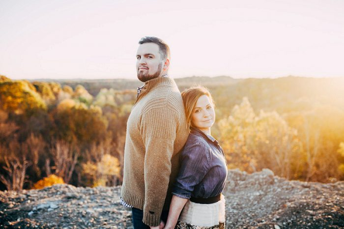 Crisp & Cozy Engagement Session from Steven