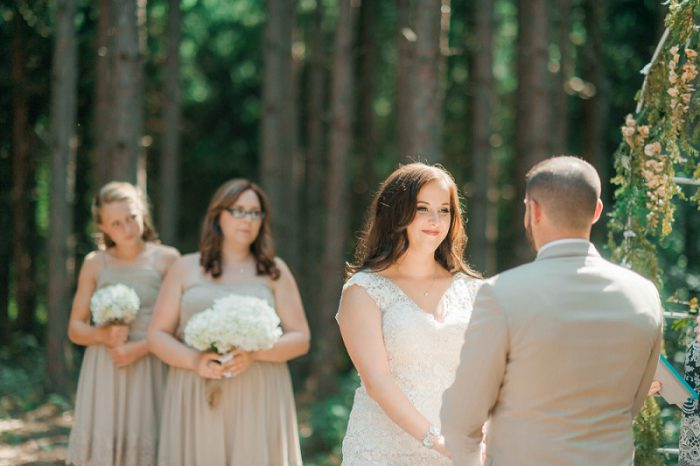 Rustic Barn Wedding at Horizon View Farms from Dawn Derbyshire Photography featured on Burgh Brides