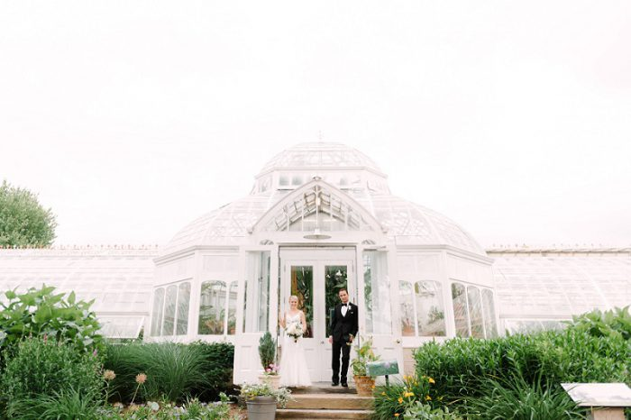 Vintage Organic Chic Wedding at The Frick from The Brand Studio featured on Burgh Brides