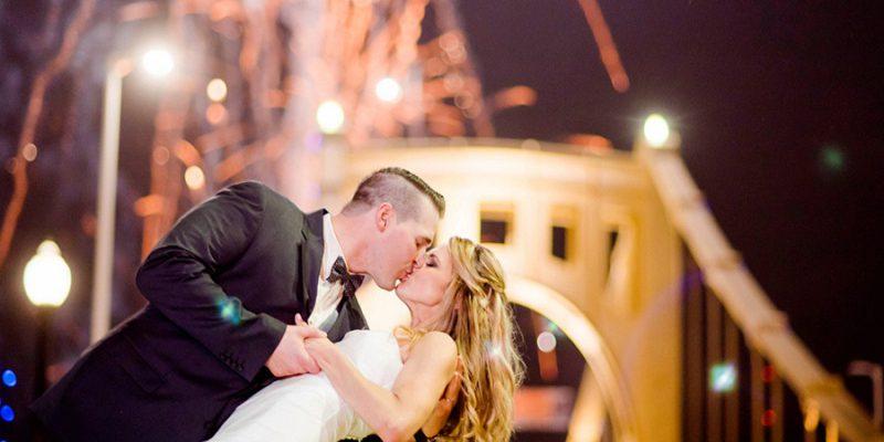 Romantic, Springtime Wedding with an EPIC Ending: Kate & Jeff