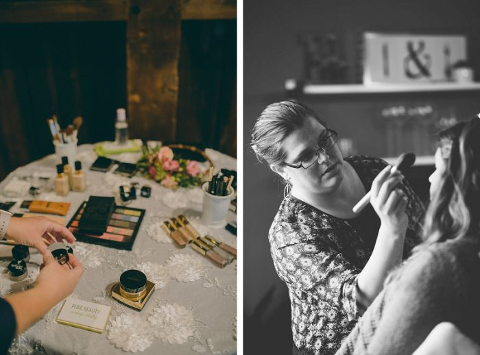 A (Wedding) Day in the Life of Pure Beauty Makeup Artistry featured on Burgh Brides
