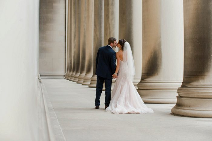Rich Marsala & Blush Wedding at the Heinz History Center from Leeann Marie, Wedding Photographers featured on Burgh Brides