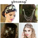 A Giveaway with Kata Banko Couture & Burgh Brides: Win a Bridal Headpiece!