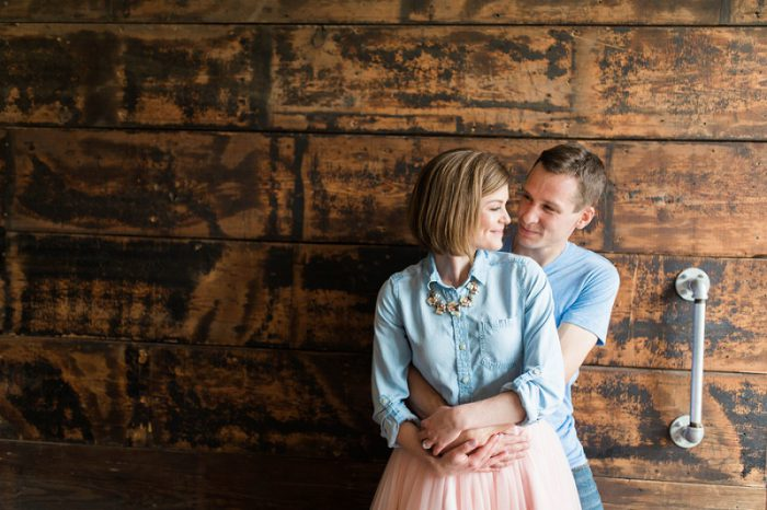 Brewery Engagement Session from Ashley Giffin Photography featured on Burgh Brides