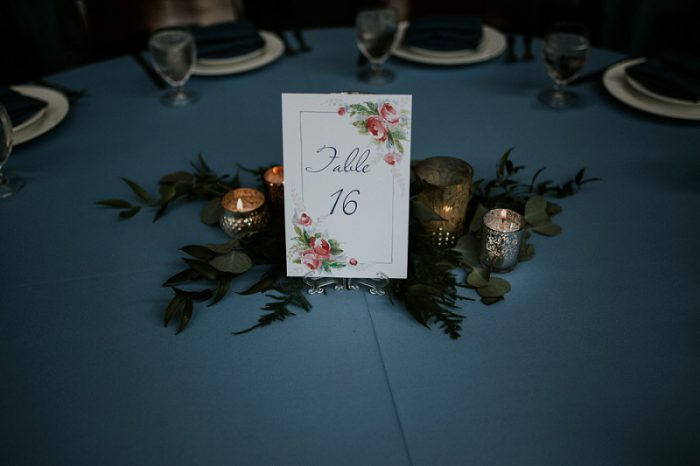 Navy Blue Wedding at Pittsburgh Botanic Garden from Tyler Norman Photography featured on Burgh Brides