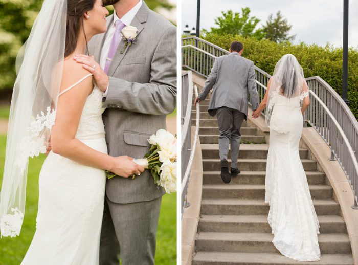 Romantic Garden Wedding at Phipps Conservatory from Leeann Marie, Wedding Photographers featured on Burgh Brides