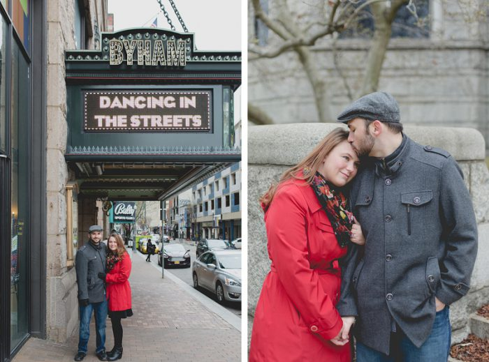 Urban Rooftop Engagement Session from Rachel Tokarski Photography featured on Burgh Brides