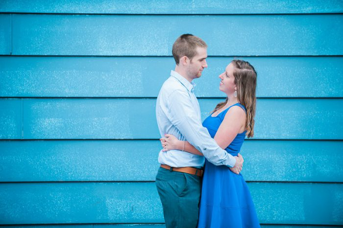 Coffee Shop Engagement Session from Jenni Grace Photography featured on Burgh Brides