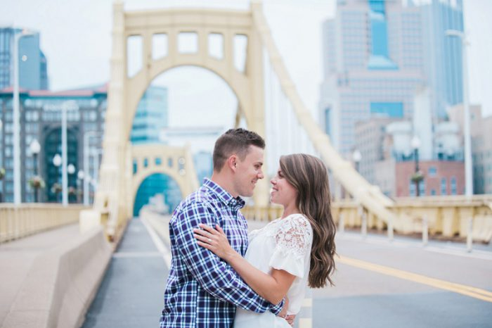 Enchanting Garden Engagement Session from Jenni Grace Photography featured on Burgh Brides