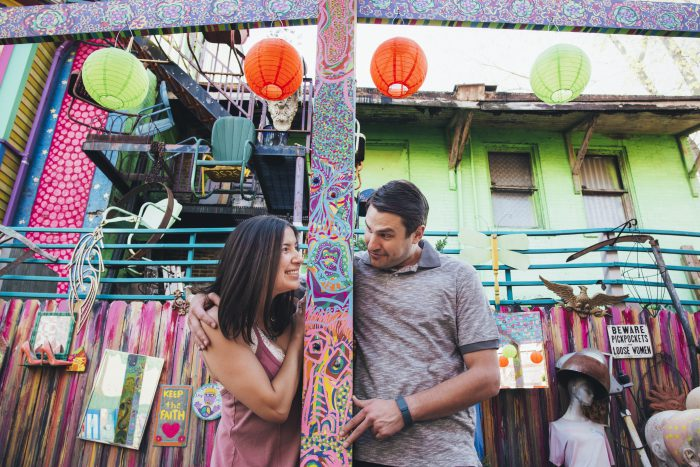 Fun-Loving Engagement Session from Sandra Chile Photography featured on Burgh Brides