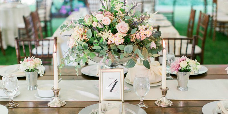 Glamorous Garden Chic Wedding: Pazia & Tony