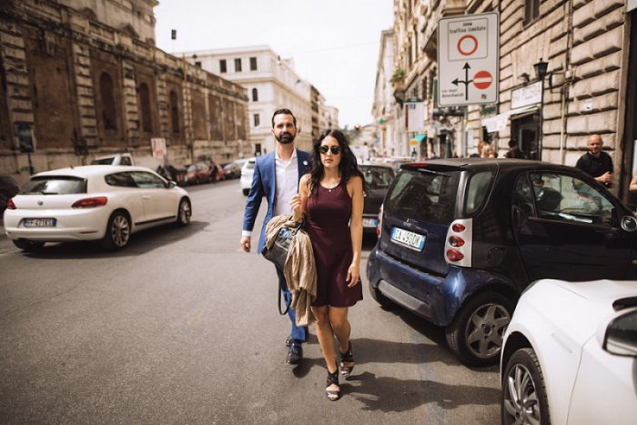 Rome Engagement Session & Film from Enrico & Eleonora Photography featued on Burgh Brides