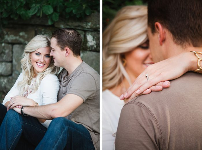 Absolutely Gorgeous Engagement Session from Ann Louise Photography featured on Burgh Brides