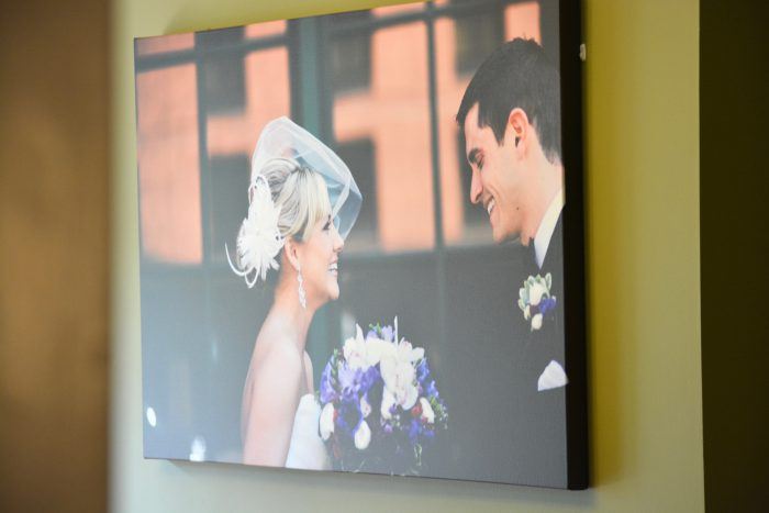 Celebrate Your Love with Canvas Prints & Burgh Brides