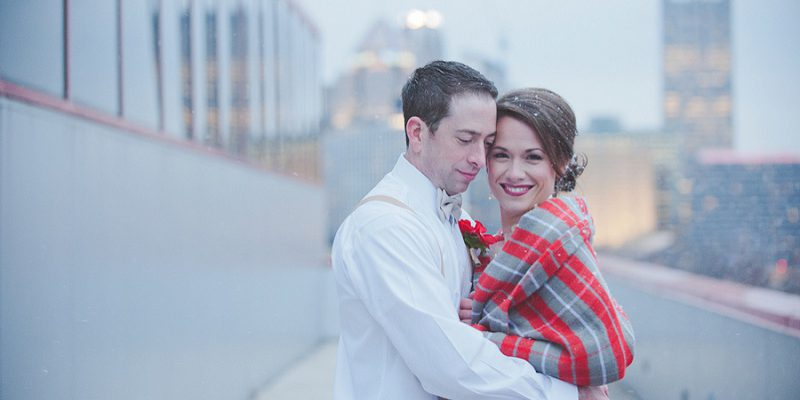 A Cozy & Bold Winter Styled Shoot