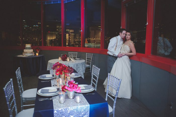 Cozy & Bold Winter Styled Shoot from Jenni Grace Photography featured on Burgh Brides