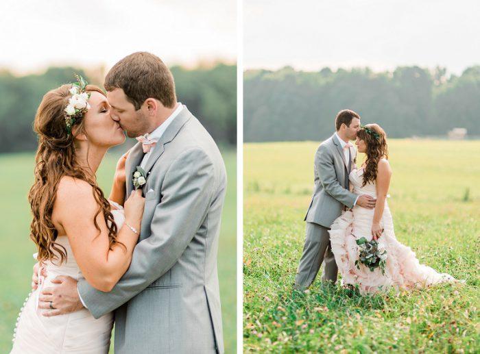 Pumpkin Inspired Fall Farm Wedding by Dawn Derbyshire Photography featured on Burgh Brides