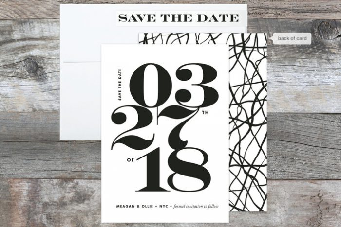 10 Save the Dates from Minted that I'm Totally Obsessed With