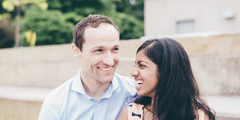 Cute & Casual Engagement Session: Stacey & Joerg
