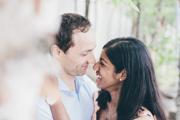 Cute & Casual Engagement Session from Levana Melamed Photography featured on Burgh Brides