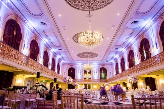 Decadent Purple Gold Wedding From Leeann Marie Photographers Featured On Burgh Brides