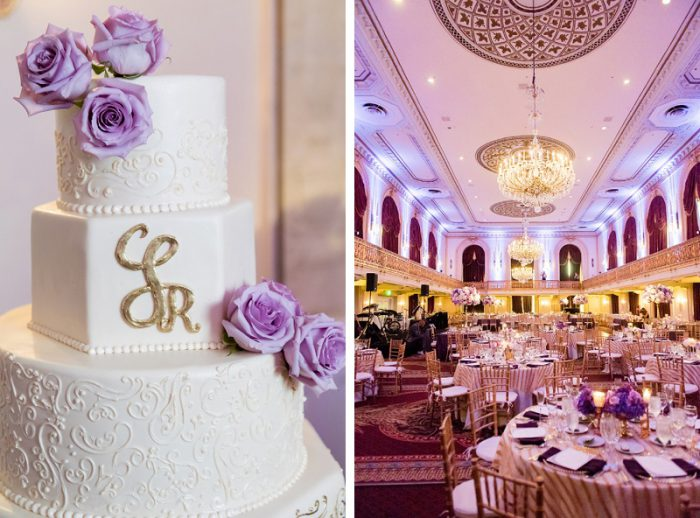 Decadent Purple & Gold Wedding from Leeann Marie, Wedding Photographers featured on Burgh Brides