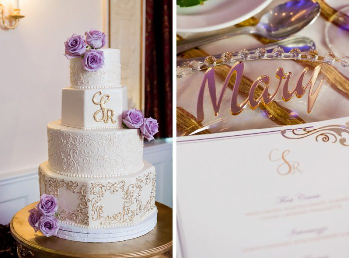 Decadent Purple & Gold Wedding at the Omni in Pittsburgh: Christine ...