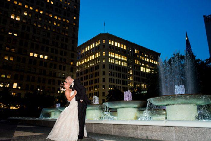 Decadent Purple & Gold Wedding from Leeann Marie, Wedding Photographers featured on Burgh Brides