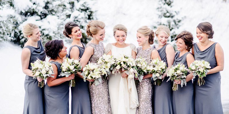 Glittery White & Silver Wedding at the Willow Room: Corrine & Brandon