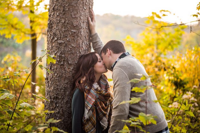 Gorgeous Scenic Engagement Session from Victoria Irene Photography featured on Burgh Brides
