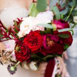 Pretty Jewel Tone Wedding from Steven Dray Images featured on Burgh Brides