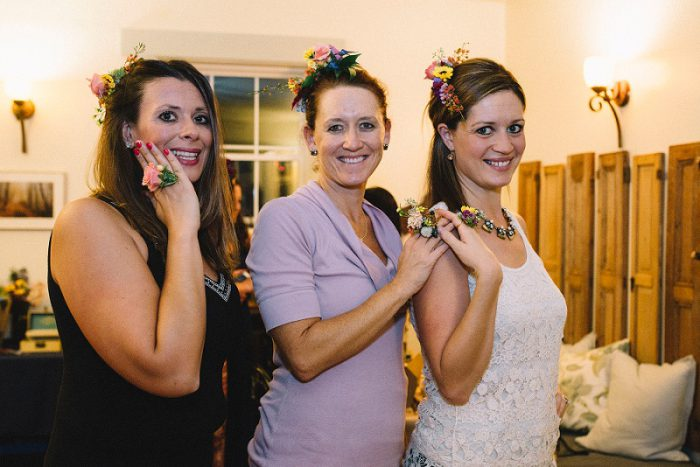 Wedding Trend Alert: Wearable Florals from the Florists of Burgh Brides