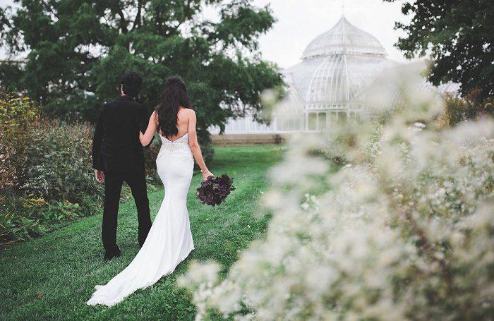 Dark & Enchanting Wedding from Tara Bennett Photography featured on Burgh Brides