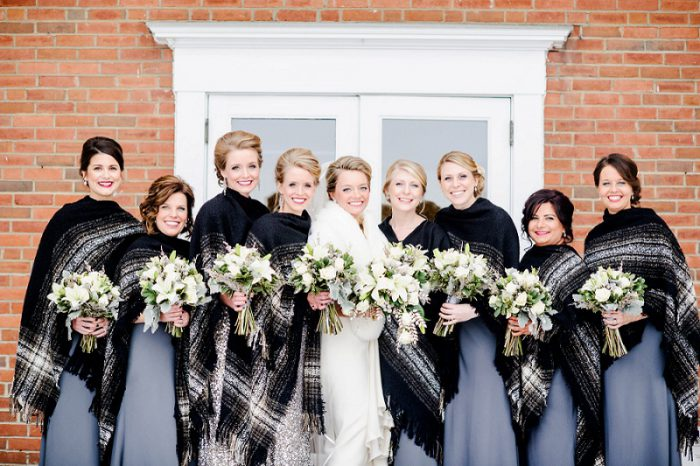 7 Perks of a Winter Wedding from Burgh Brides