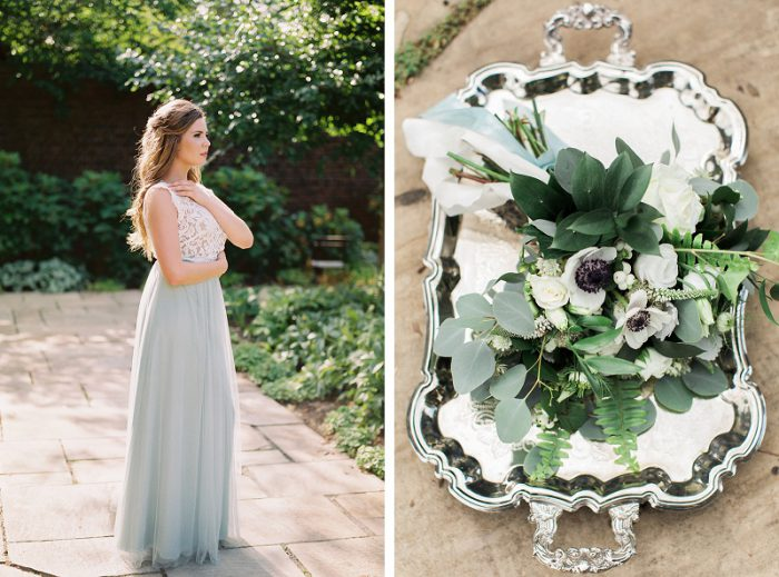 Understated & Romantic Wedding Inspired Styled Shoot from Lauren Renee Designs & Soiree by Souleret featured on Burgh Brides