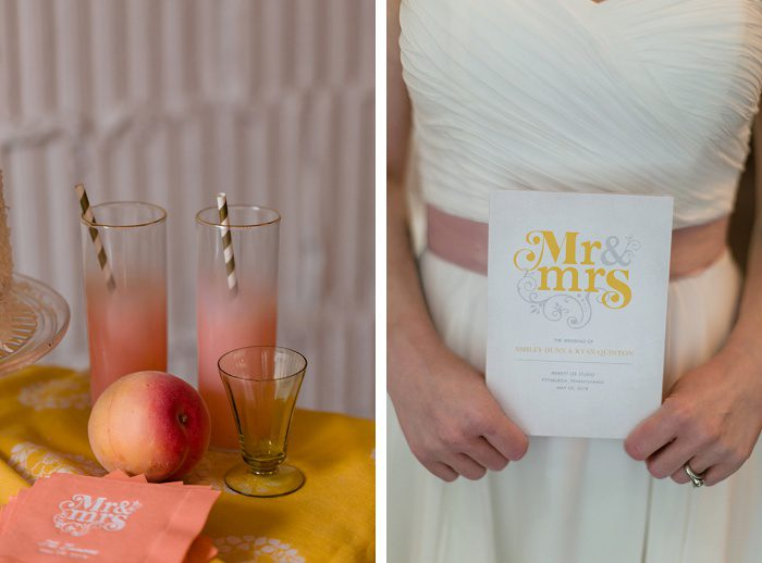 Casual & Colorful Wedding Inspiration from Kristen Wynn Photography featured on Burgh Brides