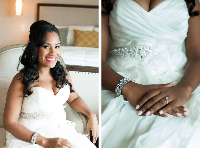 Glamorous Blush & Gold Wedding from Jess Nelson Photography featured on Burgh Brides