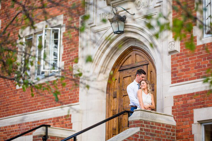 Grove City College Engagement Session from Jenna Hidinger Photography featured on Burgh Brides